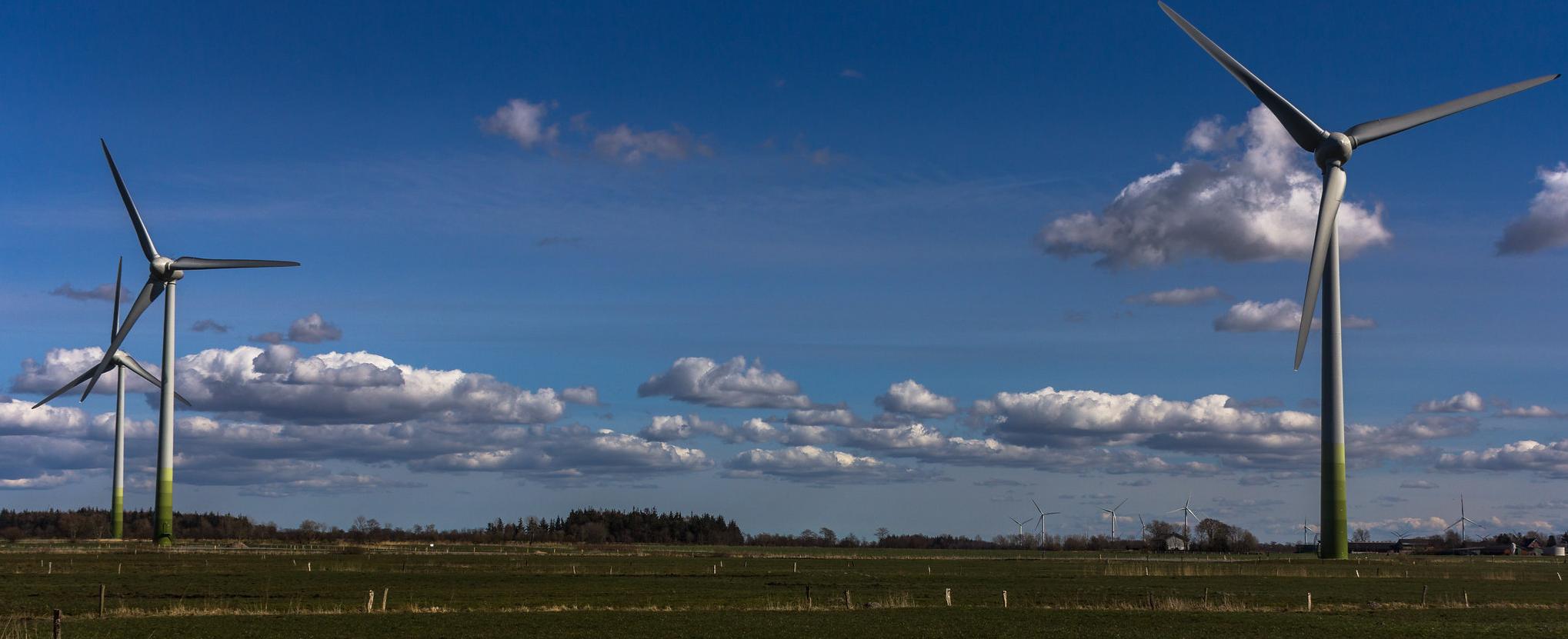 Windkraftanlagen des Windparks Bulack